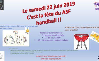 Quelques infos pour les inscrits à la fête du club de demain, le 22 juin 2019
